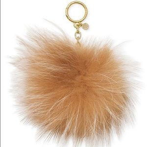 🎉New Michael Kors Genuine Fox Fur Pom Key Chain🎉
